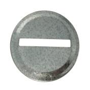 Coin Slot Bank Inserts Galvanised Metal Mason Ball Jar Lid for Mason Jars