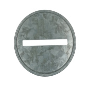 Coin Slot Bank Inserts Galvanised Metal Lid for Mason Jars