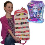 Shopkins Shoppies Gemma Stone Doll with EASYVIEW Toy Organiser Bundle