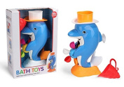 Dolphin Bath Toy for kids, boys and girls, Safe and fun for  .   to 6. Making bath time lots of fun in a way that kids have never experienced before!