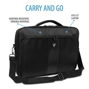 V7 CCP24-9N 33cm Professional 2 FrontLoad Laptop and Tablet Case