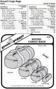 Round Cargo Bags #202 Duffel Gym Travel Cosmetic