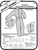 Women's Black Butte Jumpsuit Snowsuit Ladies #141 Sewing Pattern