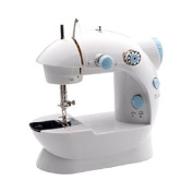 Michley LSS-202 Lil' Sew & Sew Mini 2-Speed Sewing Machine with 4 Bobbins kids supplier:sanhern