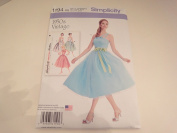 Simplicity Pattern 1194 1950's Vintage Style Dress Misses Miss Petite Size 14-22 by_amoma1981