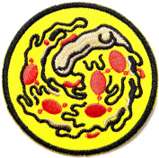 Pizza Monster Cooking Chef Kid Baby Jacket T-shirt Patch Sew Iron on Embroidered Applique Sign Badge Costum Gift
