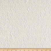 Telio Camellia Lace Solid Cream Fabric By The Yard