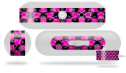 Skull and Crossbones Checkerboard Decal Style Skin - fits Beats Pill Plus