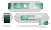 Bokeh Hex Seafoam Green Decal Style Skin - fits Beats Pill Plus