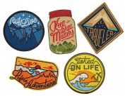 Asilda Store Adventure 5 Patch Variety Pack