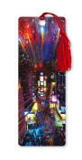 Dimension 9 3D Lenticular Bookmark with Tassel, Times Square Christmas, Winter in New York City Series