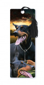Dimension 9 3D Lenticular Bookmark with Tassel, Doberman Pinscher, Pet Breed Series