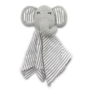 "Coney Island Cotton Lovey Security Blanket Blankie Soft Cuddly Elephant Perfect Size For Baby 11.8""By 11.8"""