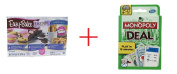 Easy Bake Oven Refill Mix Super Pack - 10 Mixes and Monopoly Deal Card Game - Bundle