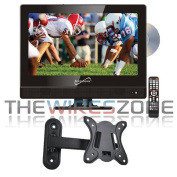 Supersonic SC-1312 34cm LED Widescreen HDTV with DVD Player and Wall Mount