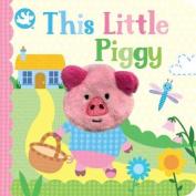 Little Me This Little Piggy Finger Puppet Book [Board book]