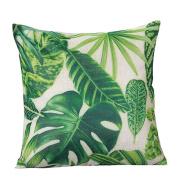 Amiley Cushion Cover Pillow Case , Pastoral Style Square Pillow Cover Cushion Case Toss Pillowcase Hidden Zipper Closure