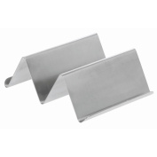HUBERT Stainless Steel Taco Holder for 1 or 2 Tacos Reversible