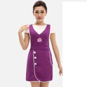 TRE apron/Nail salon beauty salon beautician uniforms aprons-D