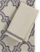 Homewear Hudson Classical Twist Napkins, Set of 4, Natural