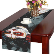 D-Story Sugar Skull Day Of The Dead Table Runner 41cm x 180cm For Dinner Parties Events Home Decor