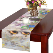 D-Story Romantic Picture With Cat Table Runner 41cm x 180cm For Dinner Parties Events Home Decor