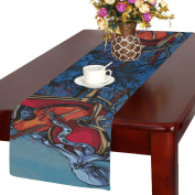 D-Story Octopus Guitar Table Runner 36cm x 180cm For Dinner Parties Events Home Decor