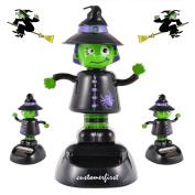 1X Customerfirst Solar Dancing Witch Halloween Toy