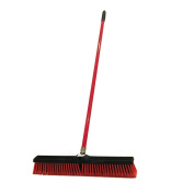 American Market Large 60cm Multi-Surface Push Broom with 120cm Alloy Handle
