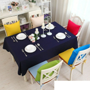 TRE solid colour fashion cloth/Pastoral cloth/ cotton cloth the coffee table/Simple Candy-coloured tablecloth-I 100x160cm