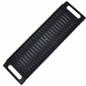 Sanbo Black Plastic Antistatic ESD Circulation Rack Shelf 47 x 14 x 3.5cm