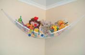 Powkoo Jumbo Toy Hammock Storage Net Organiser for Soft Stuffed Animals, Nursery Play, Teddies