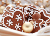 VICTORY-Jigsaw,Stained Art Jigsaw Puzzle Kids Adult Literate Jigsaw Puzzle 500 Piece 50cm X 38cm Made of iece Home Decoration-Christmas Cookies With Cinnamon