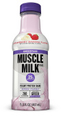 Muscle Milk Smoothie, Strawberry Banana, 12 Count