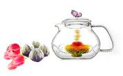 Tea Beyond Glass Teapot and Tea Set