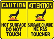 CAUTION HOT SURFACE DO NOT TOUCH