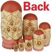 YAKELUS 7pcs Russian Nesting Dolls Matryoshka handmade0707
