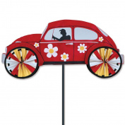 60cm . Hippie Mobile Spinner - Red