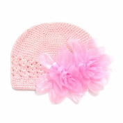 GOOTRADES Infant Baby Girl's Crochet Beanie Hat with Flower