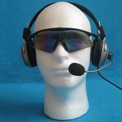Fulltime(TM) Male Styrofoam Mannequin Manikin Head Model Foam Wig Hair Glasses Display