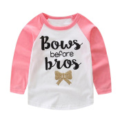 Indexp Baby Kids Long Sleeve Letter Printed T-Shirt+ Long Pants Trousers Outfits