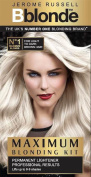 SIX PACKS of Jerome Russell Bblonde No1 Maximum Blonding Kit For Light to Dark Brown Hair