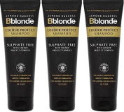 SIX PACKS of Jerome Russell Bblonde Colour Protect Shampoo 250ml