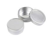 12PCS 10ml/20ml Round Metal Aluminium Nail Art Lip Balm Makeup Jar Bottle DIY Cream Cosmetic Container Pot Tin Case Beauty Products