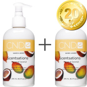 CND Scent sations 245 ml Pack of 2 - 20% Discount - Mango & Coconut Hand and Body Lotion