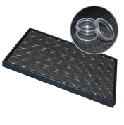 NAILFUN Storage Tray with 50 Small Nail Art Containers