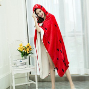 BDUK Thick Double Blanket Shawl Cloak A Cuff Mantle Gross Blankets Lazy People Office Blankets Lunch Blankets And Laziness And Tv House Of Winter Shawl