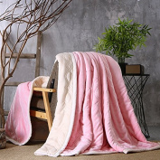 BDUK Raschel Blanket Autumn And Winter Coral Blanket Thick Anti-Static Office The Blanket Is
