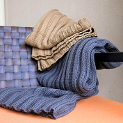 BDUK The Autumn And Winter Knitting Small Blankets Single Quilt Towel Was Shawl Office Lunch Blankets Knitting And Home Textile Thread Blanket