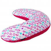 iSafe Mini Nusing Maternity Pillow Love Bug + Vacuum Storage Bag + Pillow Case